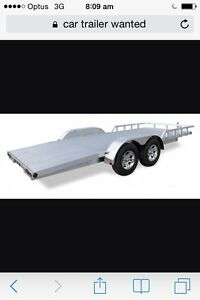 Car trailer wanted Greenslopes Brisbane South West Preview