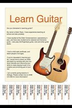 Guitar lessons! Morphettville Marion Area Preview