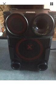 LG Boom large speakers
