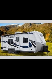 Looking for a bumper pull camping trailer