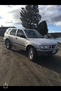 Holden Frontera S   5DR 4x4 Wagon   Manual 3.2L 6 cyl Lutana Glenorchy Area Preview