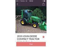 John deere compact tractor scam