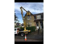 CHERRY PICKER HIRE/PAINTING/PROPERTY MAINTENANCE/ALL HEIGHT WORK/GUTTERS/SOFITS/INVERCLYDE