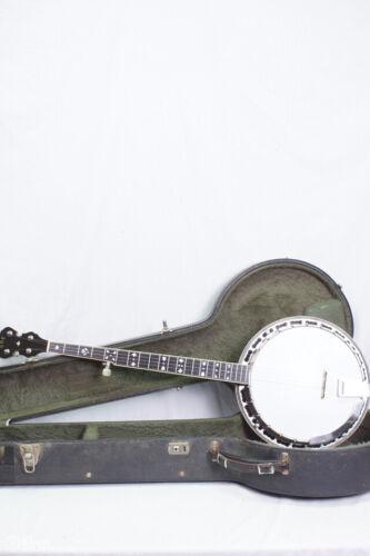 1980 ODE Style C Model 6505 5 string Banjo w Gretsch Case. BANJOWAREHOUSE ATL
