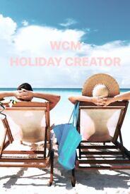 WCM holiday creator