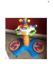 Sit and stand toy