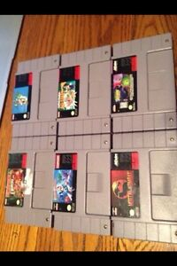 NES, PS, PS2, and SUPERNINTENDO GAMES
