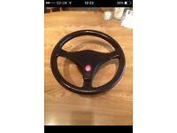Vw golf mk1 GTI formuling steering wheel