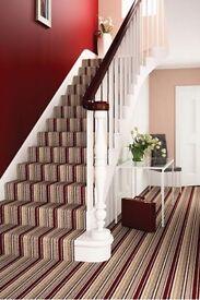 Carpet, vinyl and laminate fitter.