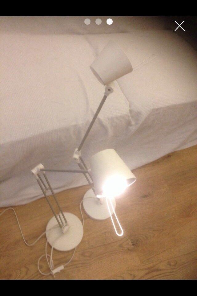 Lamps IKEA Oleby multidirectional (pair