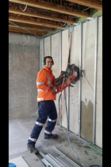 Core drilling, road sawing, wallsawing