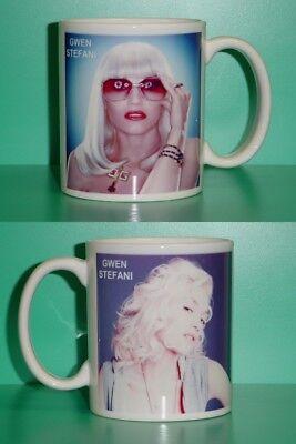 GWEN STEFANI - with 2 Photos - Designer Collectible GIFT Mug 03