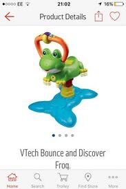 Brand new bounce and discover frog.