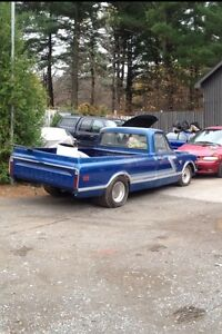 1968 C10 pick up rolling project