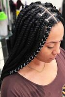 Tresses africaine , crochet , weave , box braid