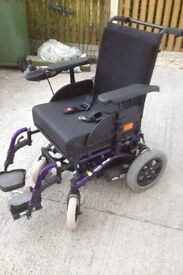 invercare mirage electric wheelchair