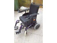 invercare mirage electric wheelchair