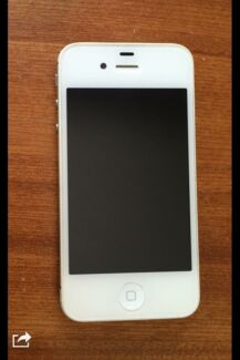 iPhone 4s 16GB White Cloverdale Belmont Area Preview