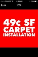 CARPET FOR LESS NEXT DAY INSTALLATION ☎️ 416 625 2914
