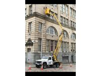 CHERRY PICKER HIRE PROPERTY MAINTENANCE/PAINTING/GUTTERS/SOFFITS ALL AROUND EDINBURGH