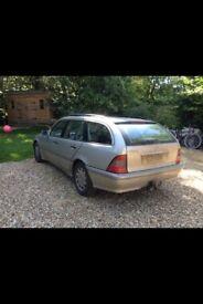 Mercedes Estate 240, 6 cylinder 2.4 petrol