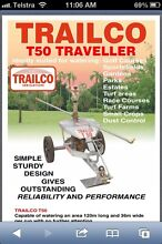 "Trailco travelling irrigator T50 55 metres 1"" pipe Will cover 120 Coolum Beach Noosa Area Preview"