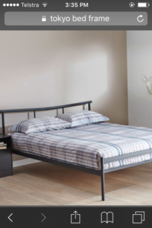 Cheap brand new double bed frame