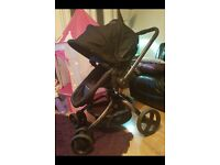 Mothercare spin pram/buggy and car seat