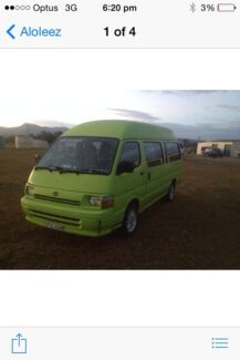TOYOTA HIACE HITOP COMMUTER DIESEL