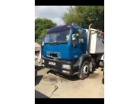 Man truck lorry tipper spares or repairs