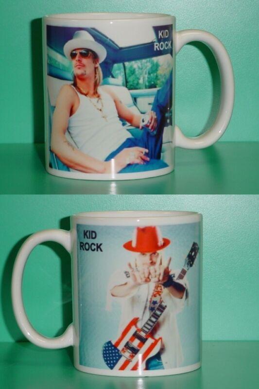 KID ROCK - with 2 Photos - Designer Collectible GIFT Mug 01