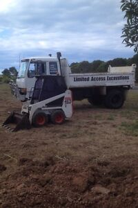 Mini bobcat hire from $80phr Nikenbah Fraser Coast Preview