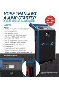12v/24v JUMP-STARTER 1200A-DIESEL MOTOR HOME RV TRUCK -PETROL-POW Valley View Salisbury Area Preview