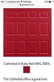 brand new garador garage door for sale
