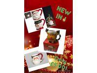 Christmas novelty mugs