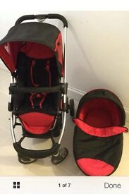 I Candy cherry 🍒 pushchair and carry cot