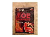 Little Hotties disposable toe warmers