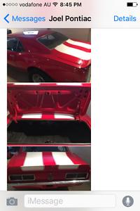 Beware SCAM Pontiac Firebird Camaro Classic Cars Dodge Chev Campbelltown Campbelltown Area Preview