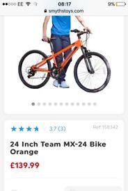 """TEAM 24"""" kids bike"""