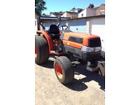 KUBOTA L3830 (38hp) COMPACT TRACTOR VERY LOW HOURS NO VAT