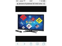32 Polaroid smart tv for sale