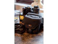 Nikon D3200 18-55mm kit + Extras