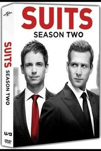 Suits:The Complete Season  Two( 4 DVD Set, 2013)* Brand New**!!Ships 5/28/13