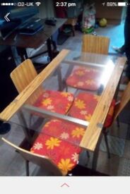 Dining table set £49.99