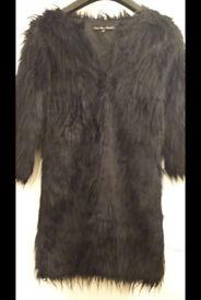 ladys fur coat size 10