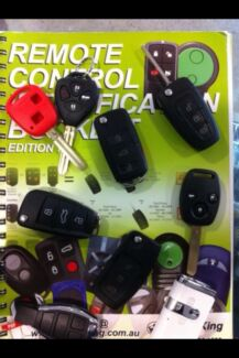 Car key cutting & remotes