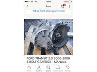 Ford transit mark6 gear box
