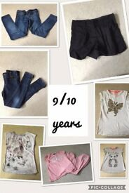 Girls Clothes 9/10 years