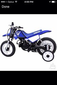 WANTED: PW50 with training wheels Watanobbi Wyong Area Preview