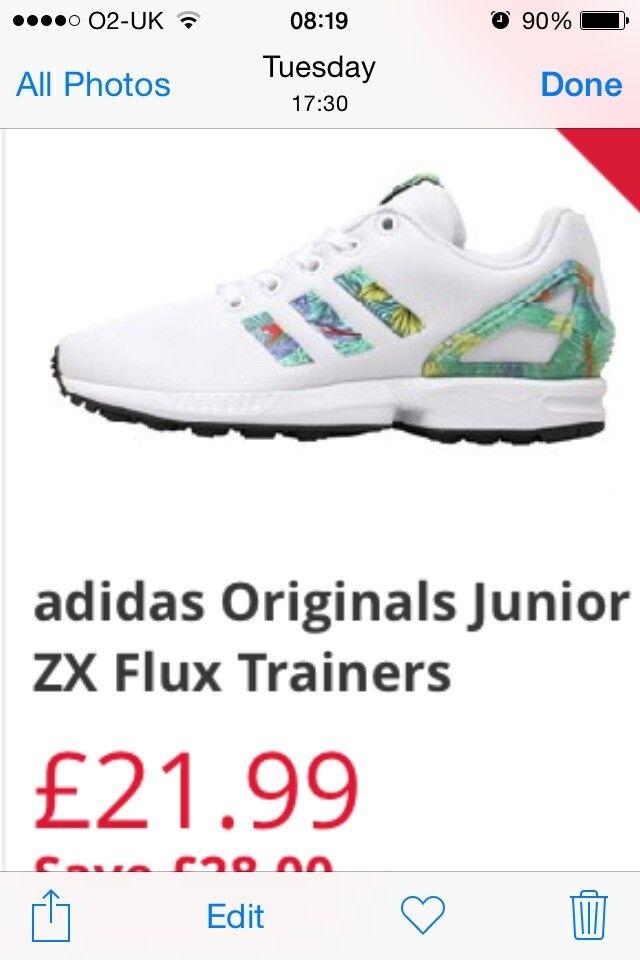 d0e89c79f Brand new Adidas flux size 4 original. Bradford ...